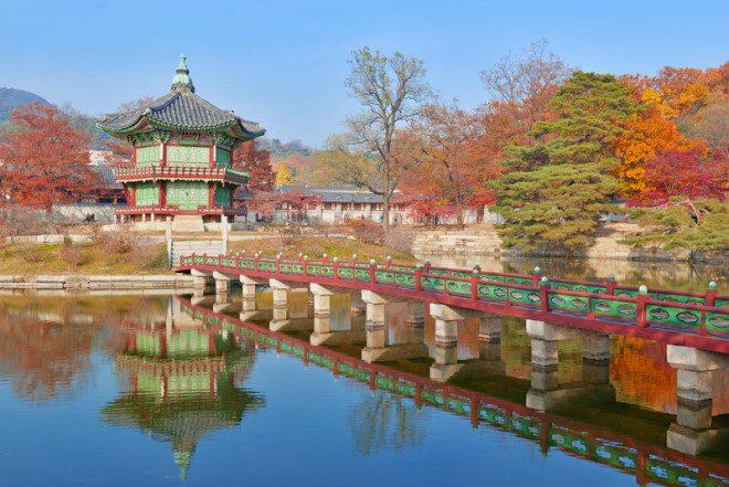 Palácio de Changgyeong, um dos principais pontos turísticos em Seul, na Coréia do Sul. Crédito: Nyker1 | Dreamstime