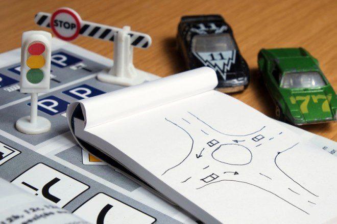 Mais da metade dos candidatos falham no teste de direção em Dublin. Foto: Angelo DeVal | Dreamstime.com
