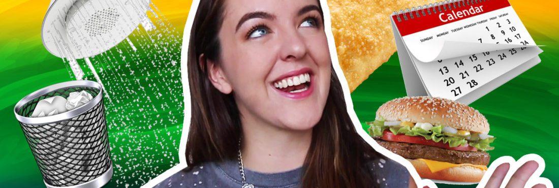 Gringa reagindo a hábitos brasileiros – All That Jess#111