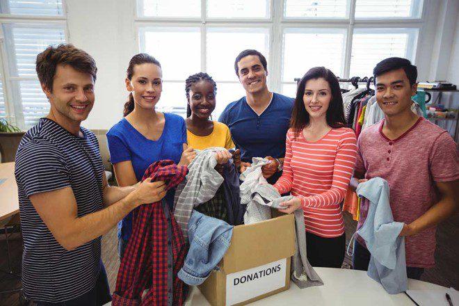 Charity Shops também têm opções de voluntariado. Foto: Freepik