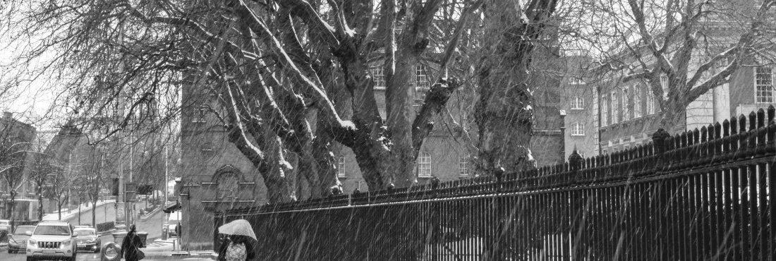 Irlanda em alerta vermelho por conta da Tempestade Emma