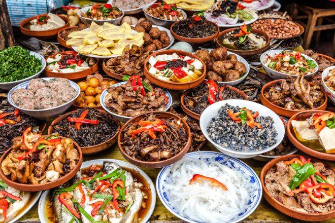 Diversidade gastronômica da China está na programação do Asia Market. Foto: 06Photo/Dreamstime