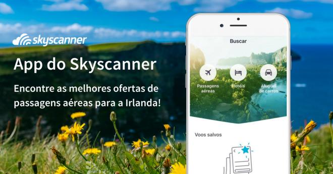 Skyscanner: facilidades no site e em diferentes plataformas móveis. Crédito: Skyscanner
