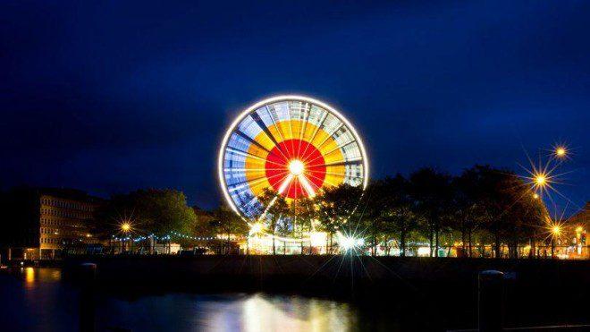 Roda gigante com vista panorâmica será instalada no centro de Limerick. Foto: Limerick.ie