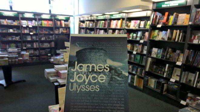 Um dos principais clássicos da Literatura irlandesa. Ulysses de James Joyce. Foto: Rodrigo Ferreira