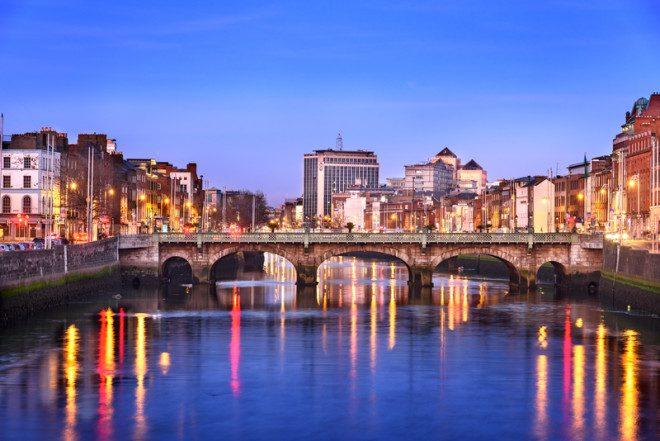 Dublin ocupa a 19ª posição na lista de cidades mais caras do mundo. Foto: Shahid Khan | Dreamstime
