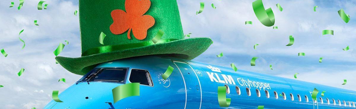 KLM lança promoção para comemorar o St. Patrick's Day