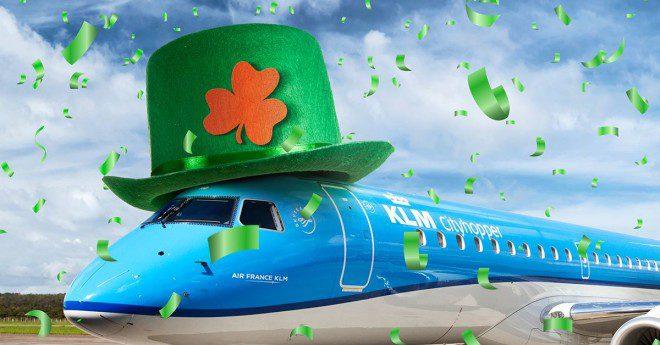 KLM tem presentes especiais para o St. Patrick's Day!