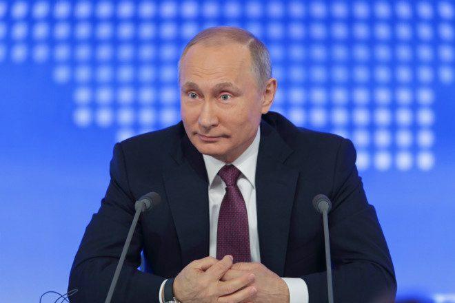 O presidente Vladimir Putin reforça preconceito na Rússia com opiniões polêmicas. Foto: Igor Dolgov/Dreamstime