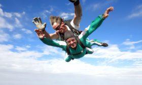 Simulador de voo de paraquedas: a nova atração de Belfast