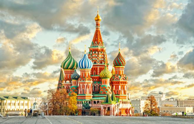 Moscou é a maior cidade da Rússia. Foto: Reidlphoto | Dreamstime