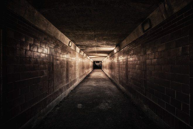 Túnel subterrâneo. Foto: Depositphotos