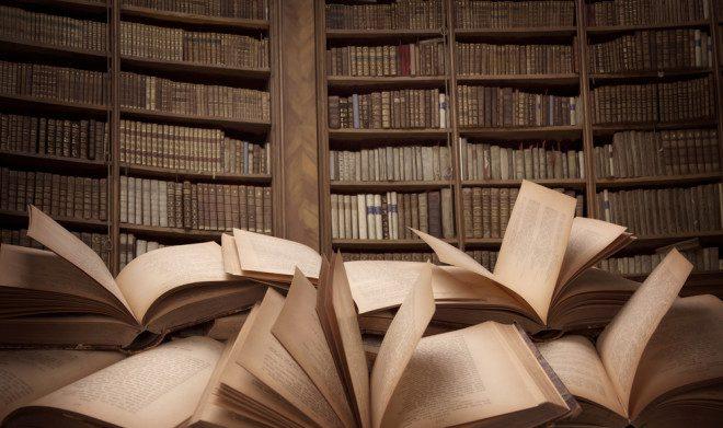 Depósito Legal de Livros. Foto: Depositphotos