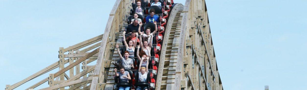 5 parques de diversão na Irlanda