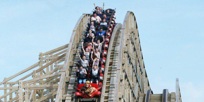 Tayto Park é um dos mais populares parques de diversão da Irlanda entre maio e agosto. Foto: Divulgação