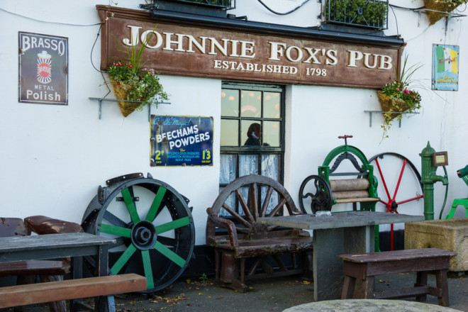 Johnnie Fox's Pub é um dos mais antigos da Europa e está localizado em Wicklow. Foto: Daniel M. Cisilino/Dreamstime