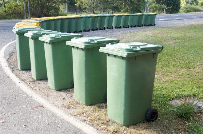 Lixo deve ser descartado em lixeiras ou a companhia não recolher. Foto: Rozenn Leard/Dreamstime