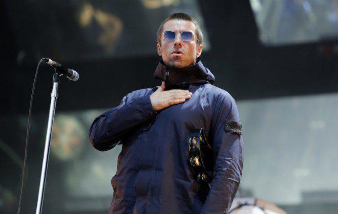 Liam Gallagher se apresenta em Dublin. Foto: MME