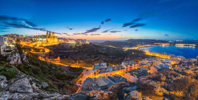 Malta tem um dos menores custos de vida da Europa. Foto: Zoltan Gabor | Dreamstime