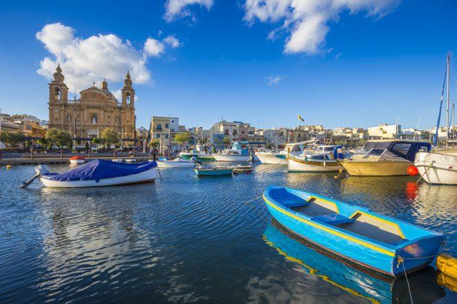 Msida é sede da Universidade de Malta. Foto: Zoltan Gabor | Dreamstime