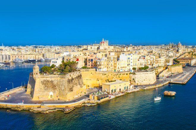 Cidade fortificada, Valletta é a capital de Malta. Foto: Luca Santilli | Dreamstime