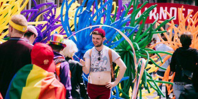Junho é também o mês do orgulho gay na Irlanda. Foto: Dublin Pride