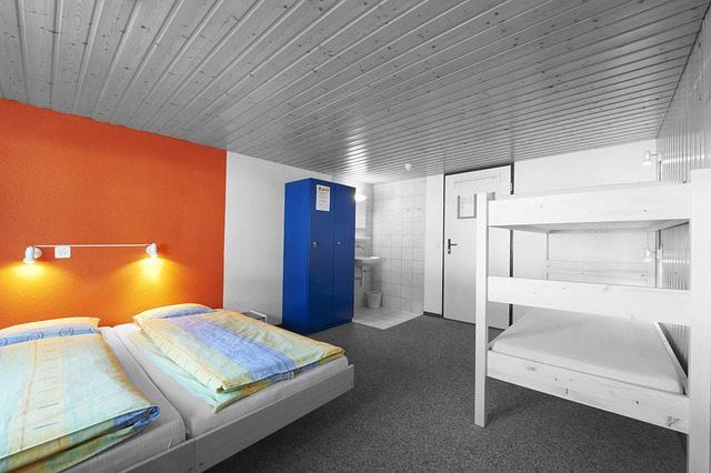 Hostels são opções mais econômica. Foto: Pixabay