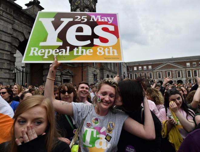Irlanda aprova em referendo a legalização do aborto. Foto: El País