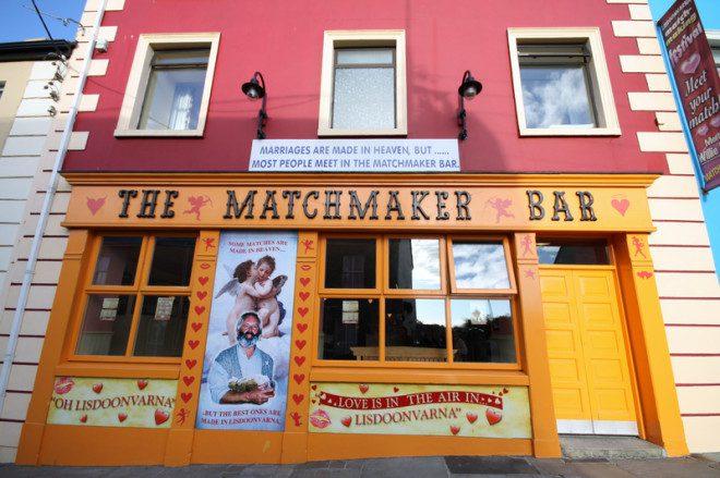 Pub de Lisdoomvarna onde a tradição do Matchmaking Fest começou. Foto: Graphicjet/Dreamstime