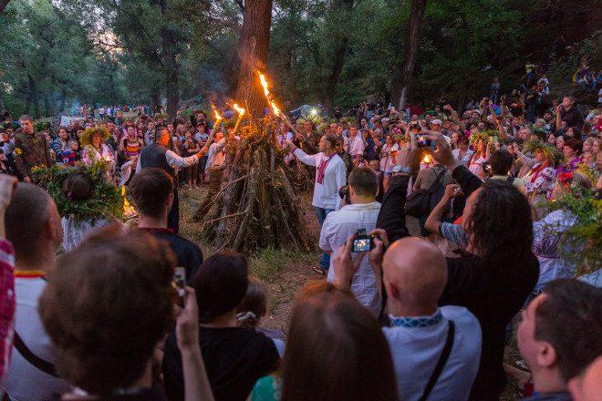 Celebração do Kupala Night, na Ucrânia. Foto: Sergemi/Dreamstime