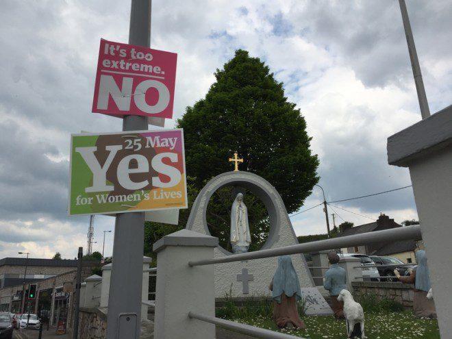 Yes or No: referendo para aprovação do aborto na Irlanda foi o último a ser votado. Foto: David Ribeiro/Dreamstime