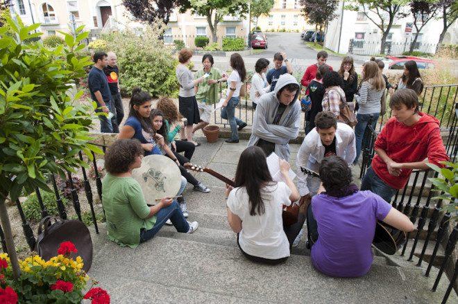 New College Dublin conta com atividades sociais para os alunos. Foto: NCG Dublin