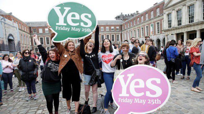 Irlanda aprova legalização do aborto mais mais de 1 milhão de votos. Foto: RTE