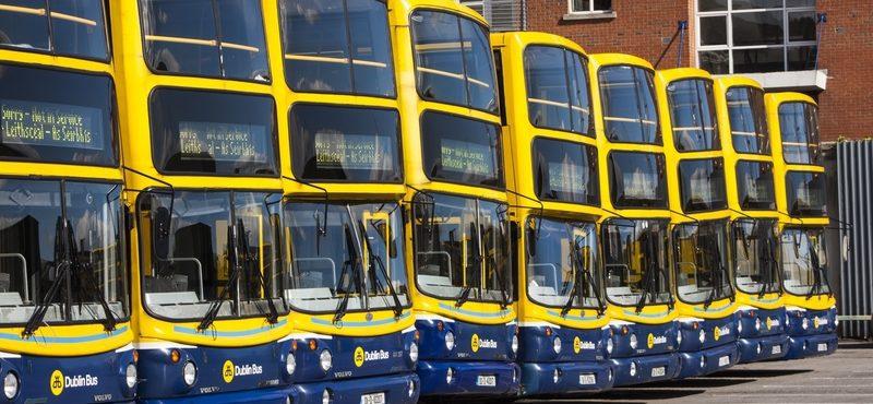 Números e rotas do Dublin Bus podem mudar