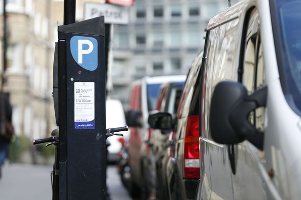 Estacionar em Dublin pode ser bem caro. Foto: Mirror