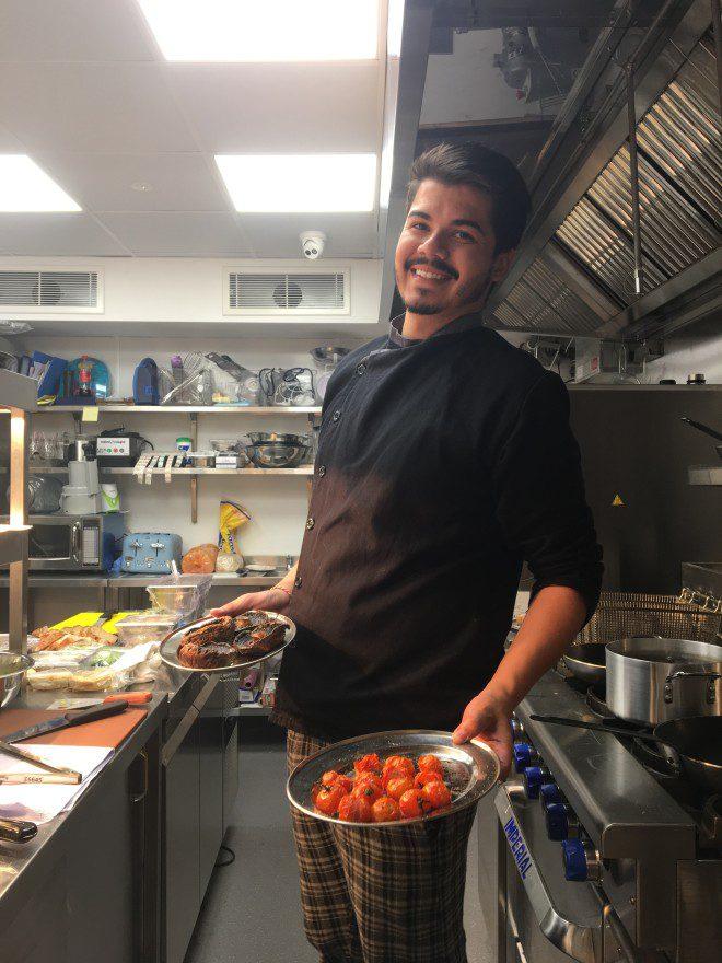 Encontrar trabalho como chef para mim foi mais fácil que encontrar acomodação. Foto: Arquivo Pessoal.