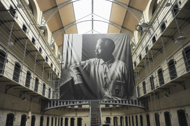 Kilmainham Gaol exibe exposição sobre Nelson Mandela. Foto: The Journal