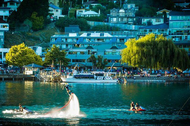 Lago Wakatipu, Queenstown. Foto: Mariamichelle|Pixabay.