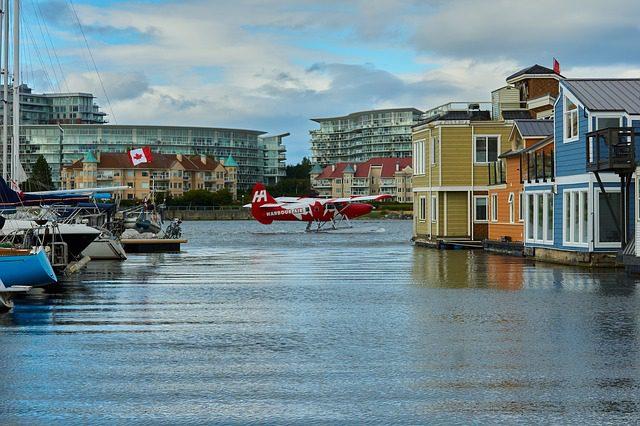 Victoria no Canadá. Foto: jusuf111|Pixabay.