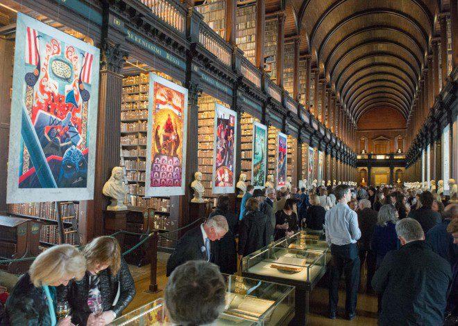 Trinity Library aberta ao público
