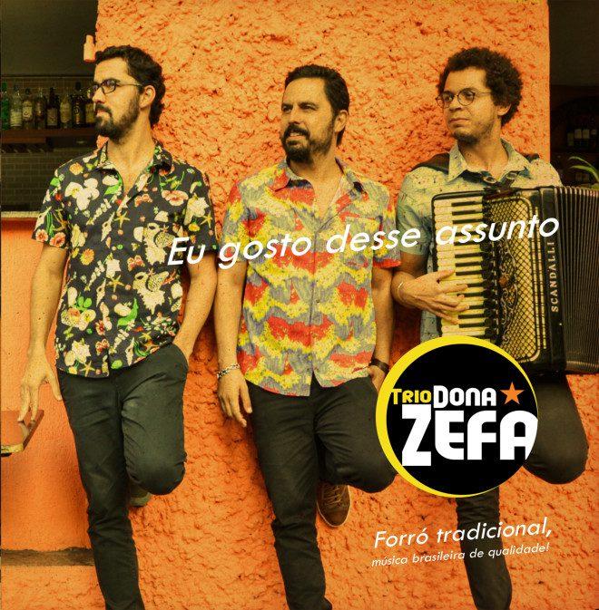 Trio Dona Zefa se apresenta em Dublin em setembro. Imagem: TDZ