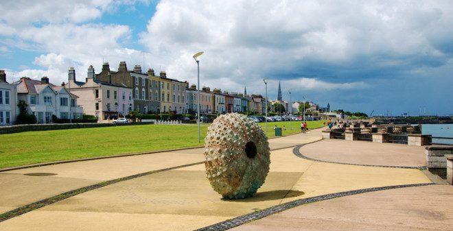 Dun Laoghaire fica localizada ao sul de Dublin | ©Dreamstime
