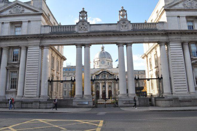 Departament of Toaiseach, sede do governo da Irlanda, em Dublin
