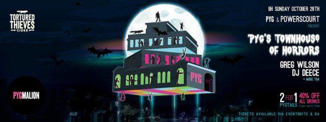 Pygmalion vai ter festa especial de Halloween. Foto: Facebook