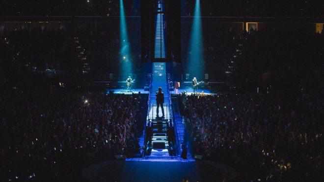 Irlandeses do U2 trazem show da nova turnê a Dublin. Foto: RTE