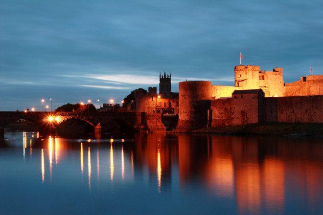 O King John´s Castle é a atração mais famosa de Limerick. Crédito: Dejavu Designs | Dreamstime.com