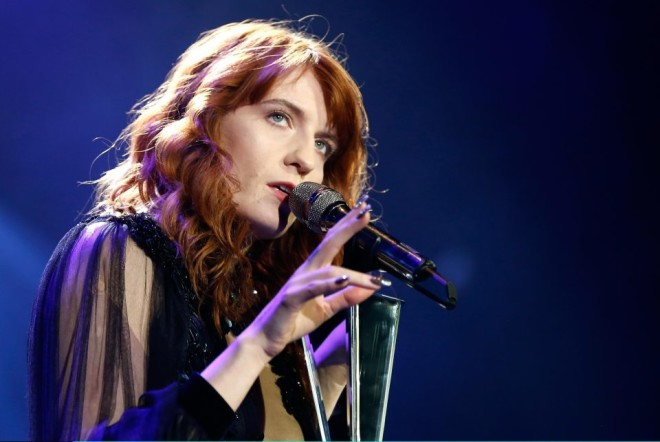 Florence + The Machine realizam novo show em Dublin. Foto: The Sun
