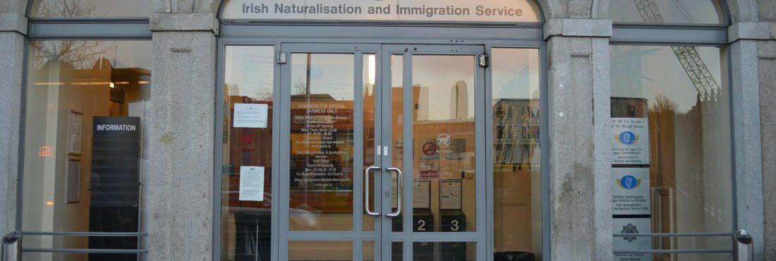Escritório de imigração de Dublin reabre dia 20 de julho