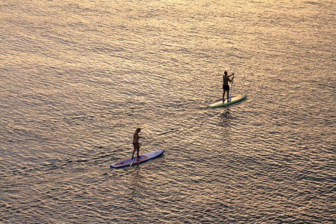 Esportes aquáticos são populares em Dun Laoghaire. Foto: Thierry Tete | Dreamstime