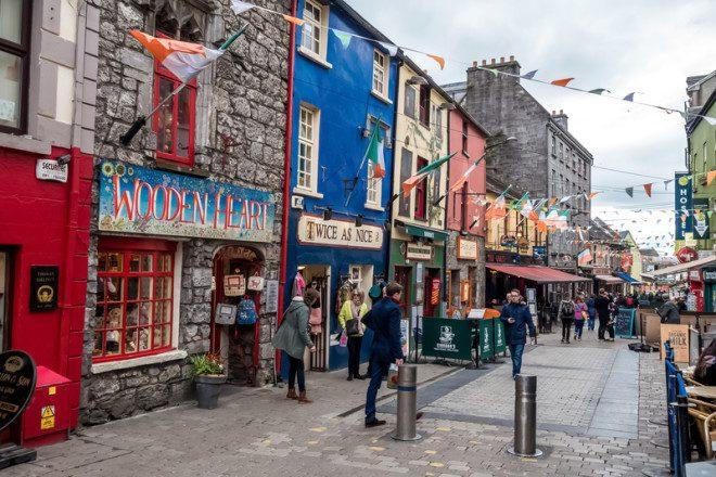 Galway tem conquistado intercambistas brasileiros. © Martinmates | Dreamstime.com